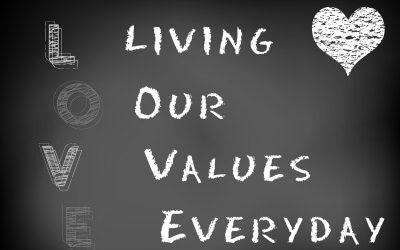 Fylder dine livsværdier positivt i hverdagen?